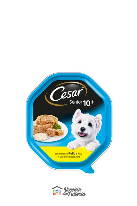 Cesar | Senior +10 - Pollo e Riso / 150gr