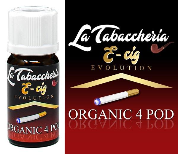 Aroma Estratto di Tabacco – Organic 4Pod – E-Cig 10ml
