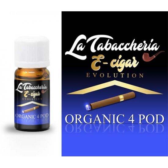 La Tabaccheria - Aroma E-Cigar Organic 4Pod 10ml