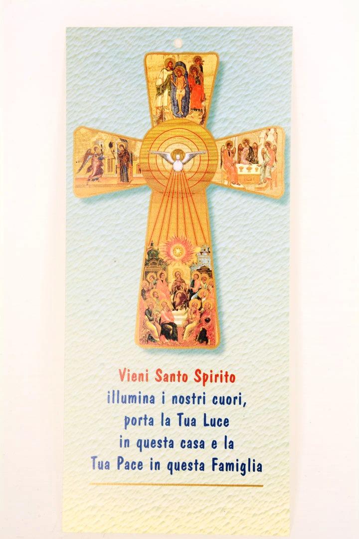 Cartoncino benedizione case art 16