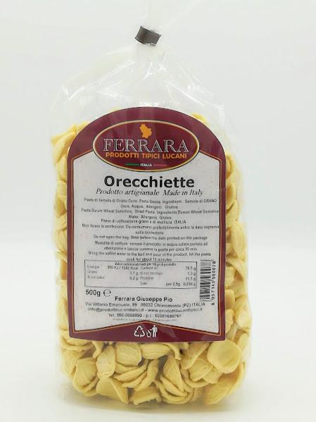 ORECCHIETTE PASTA SECCA 500 GR
