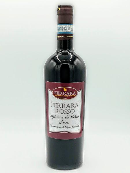 FERRARA ROSSO AGLIANICO DEL VULTURE DOC  0,75 LT