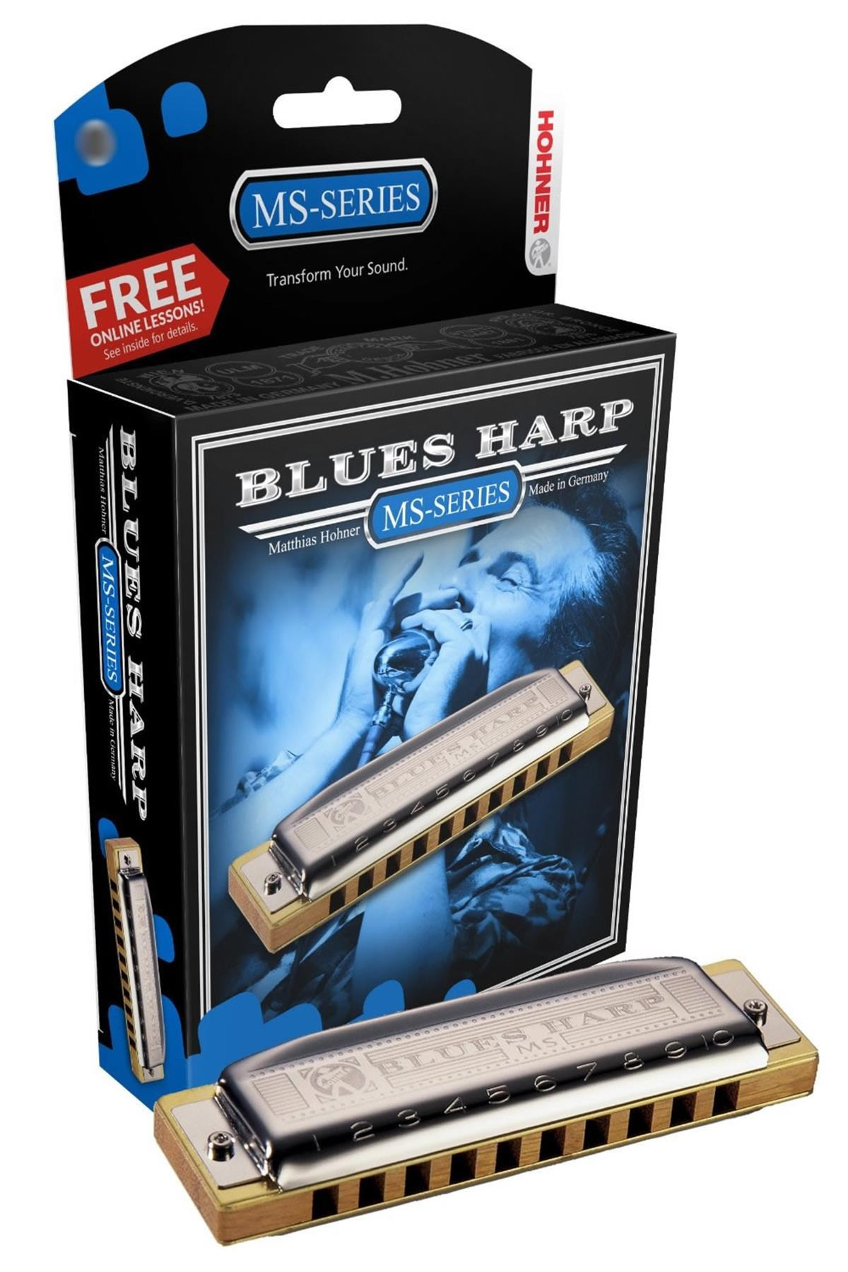 HOHNER BLUES HARP MS 20 G SOL