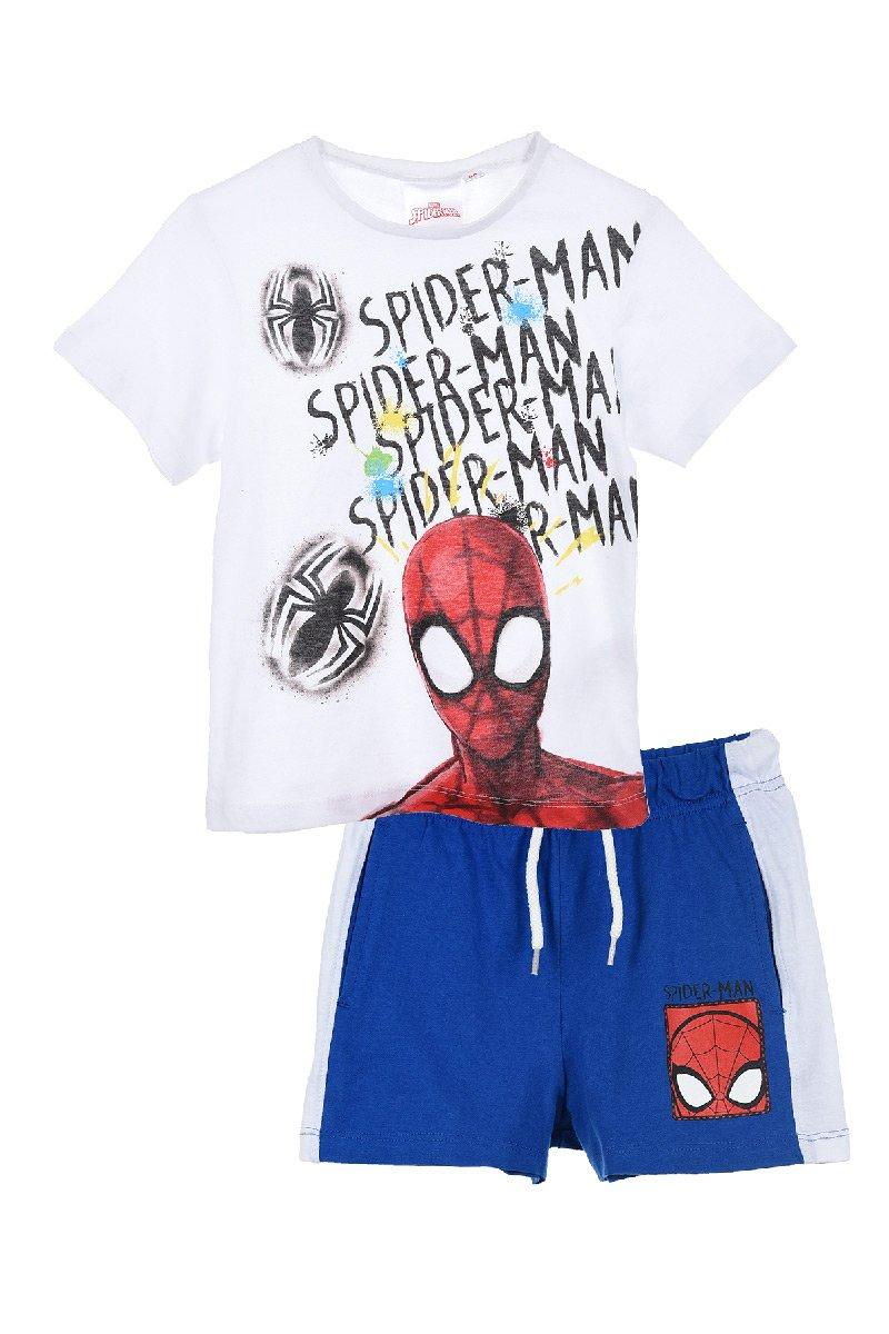 Completo Spiderman t-shirt con pantaloncini  Estate 2021