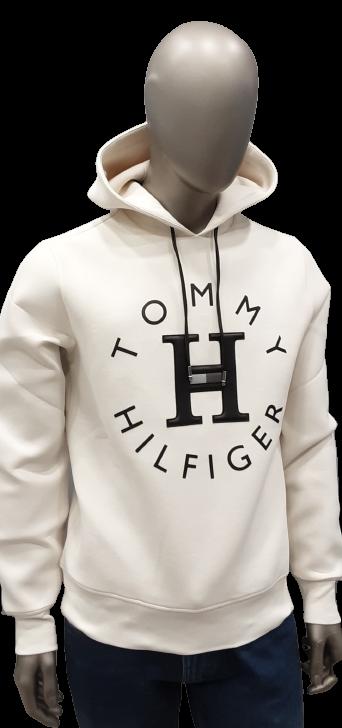 Felpa bianca con cappuccio | Tommy Hilfiger