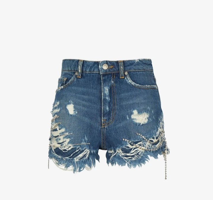Shorts denim chiara ferragni