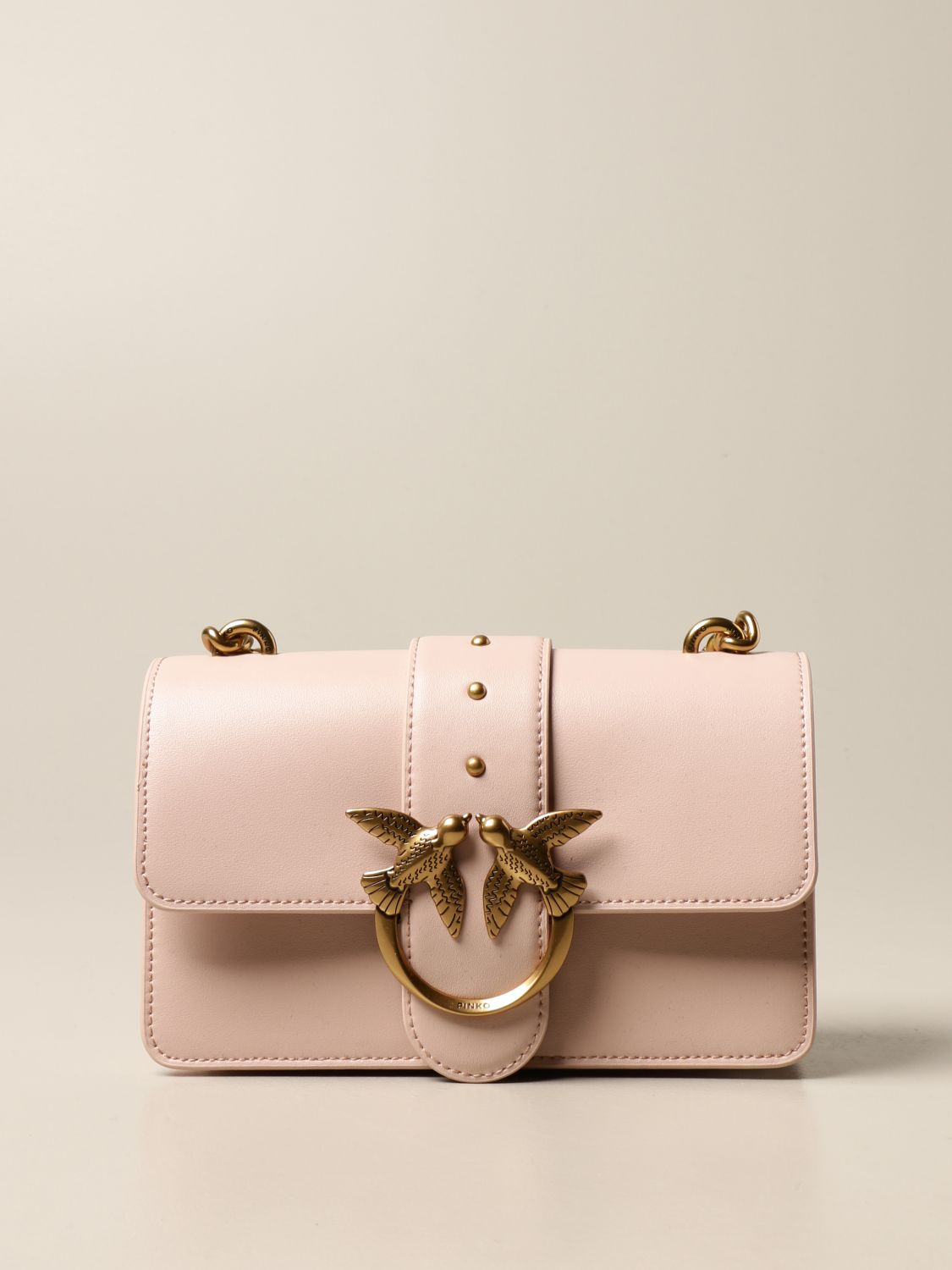 SHOPPING ON LINE PINKO MINI LOVE BAG ICON SIMPLY1  ROSA NEW COLLECTION WOMEN'S SPRING SUMMER 2021
