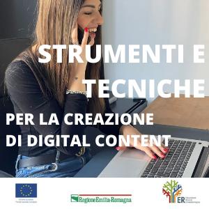 STRUMENTI E TECNICHE PER LA CREAZIONE DI DIGITAL CONTENT