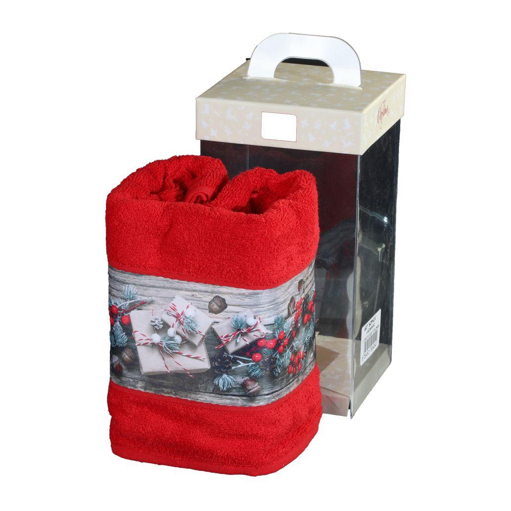 Asciugamani natalizie con stampa digitale