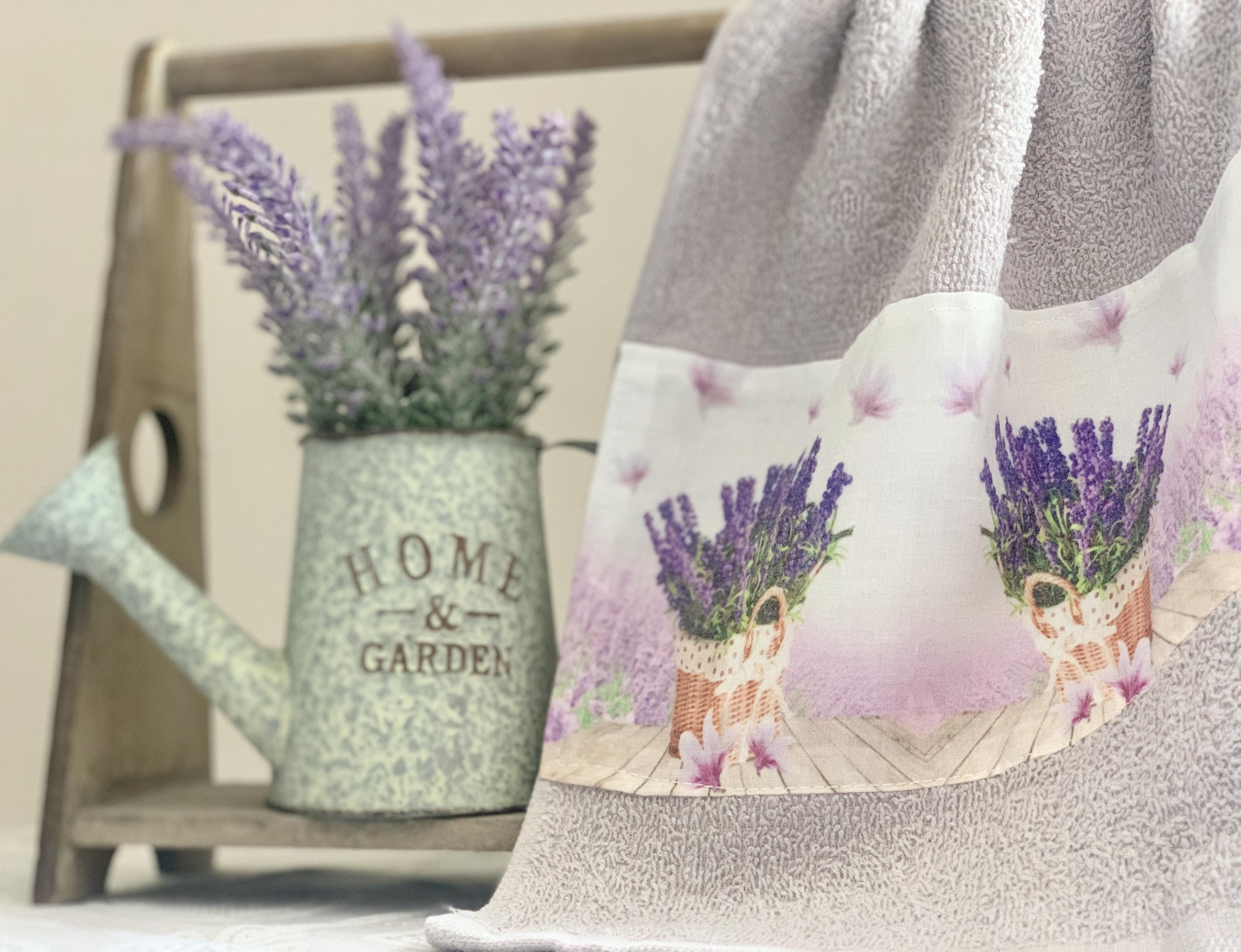 Asciugamani lavanda