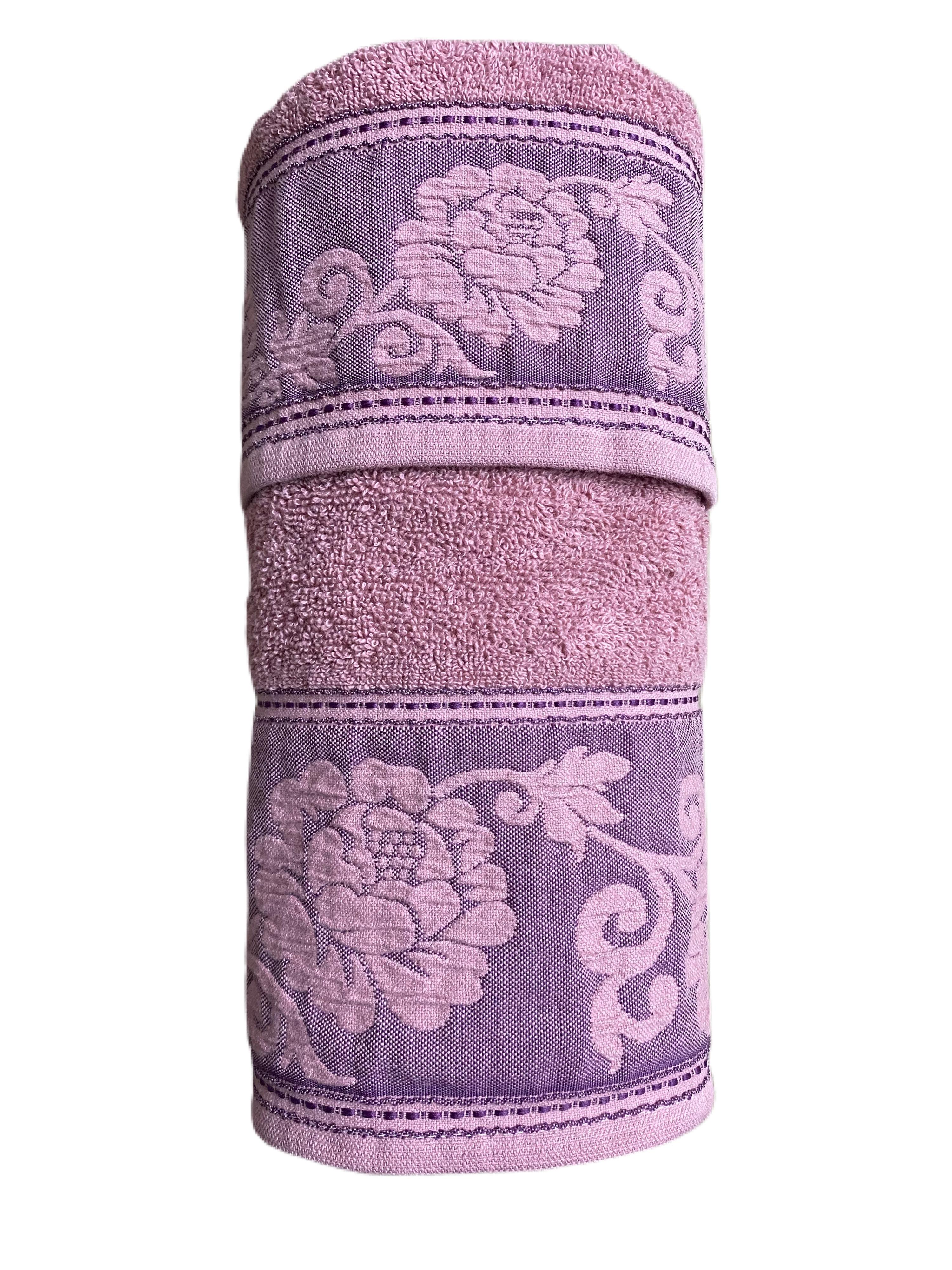 Asciugamani con greca flowers