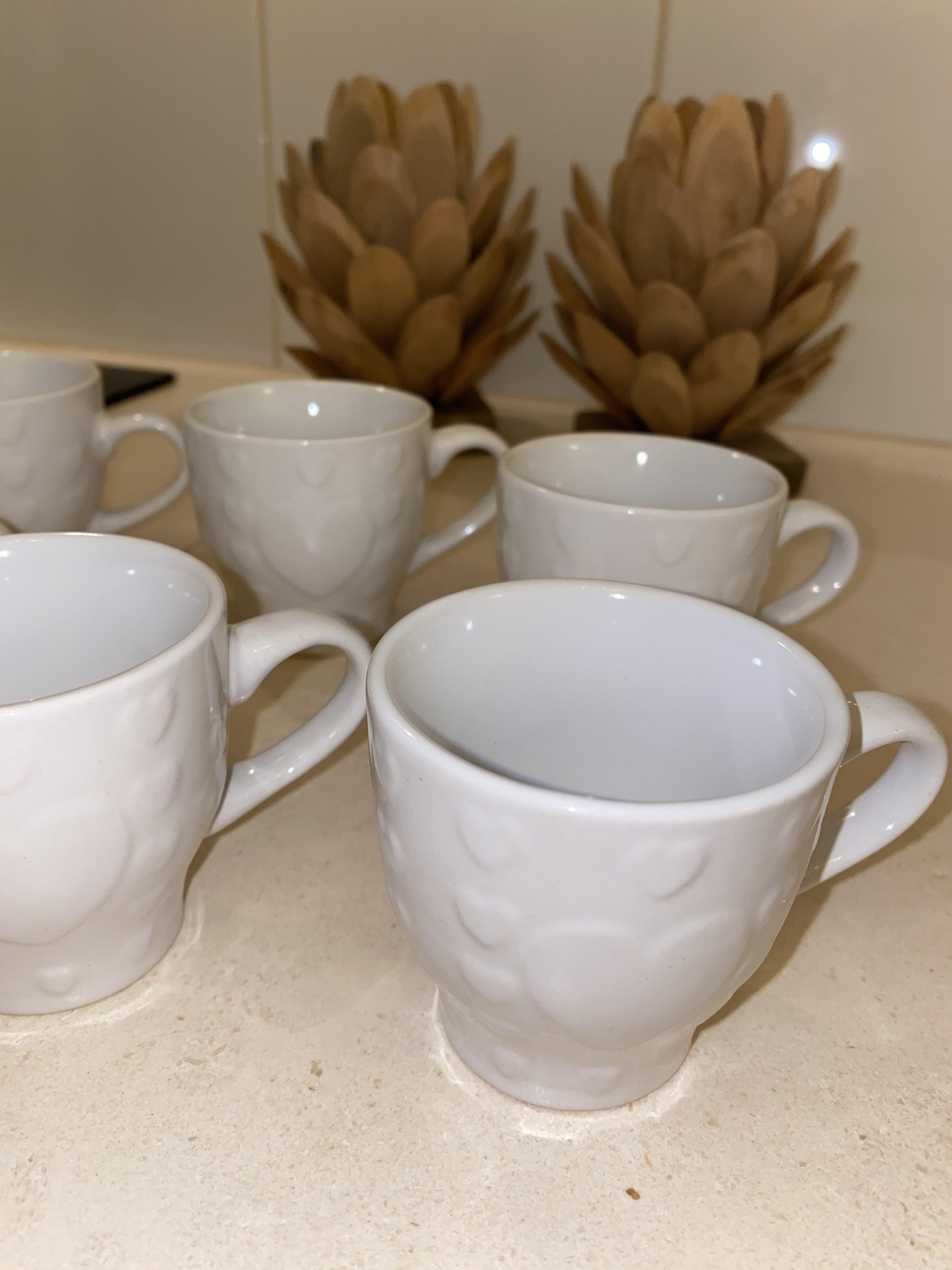 Tazzine da caffè in ceramica