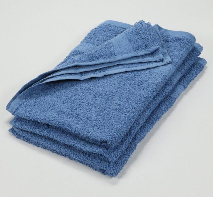 Asciugamani celesti