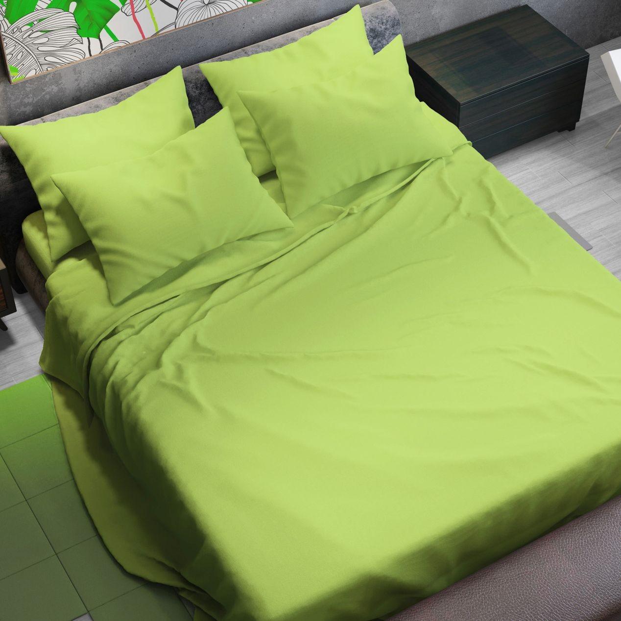 Completo lenzuola verde pastello