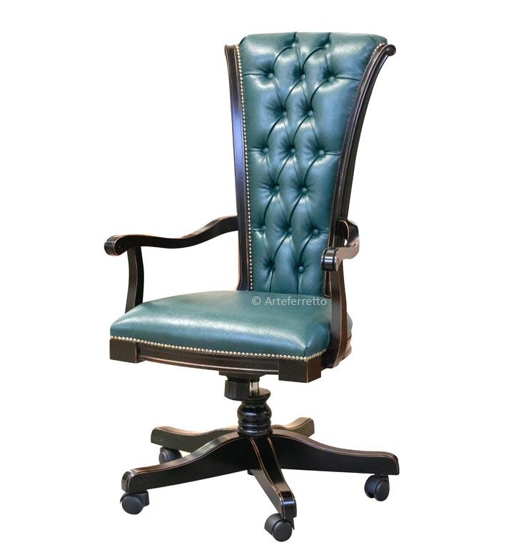 Classic office armchair