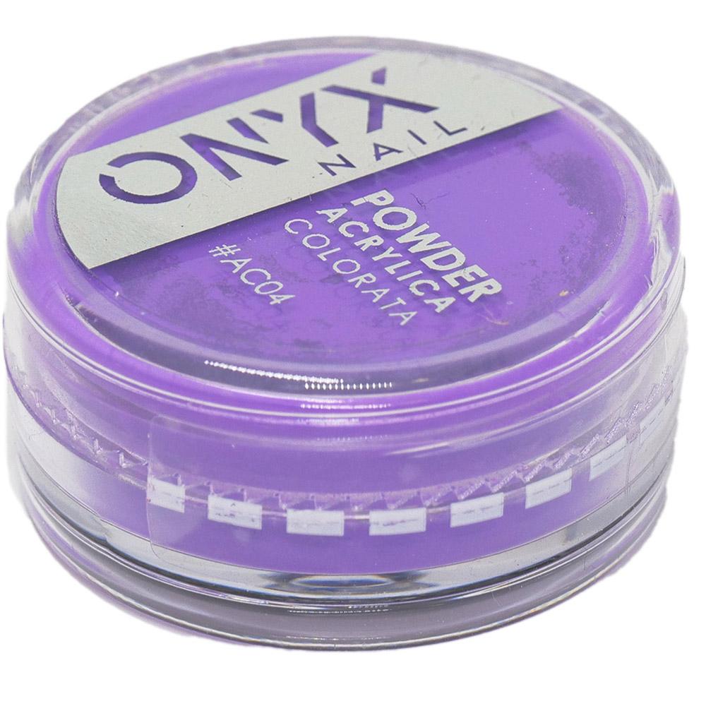 Polvere Acrilica Colorata OnyxNail - COLORE #AC04 - Colore : Viola