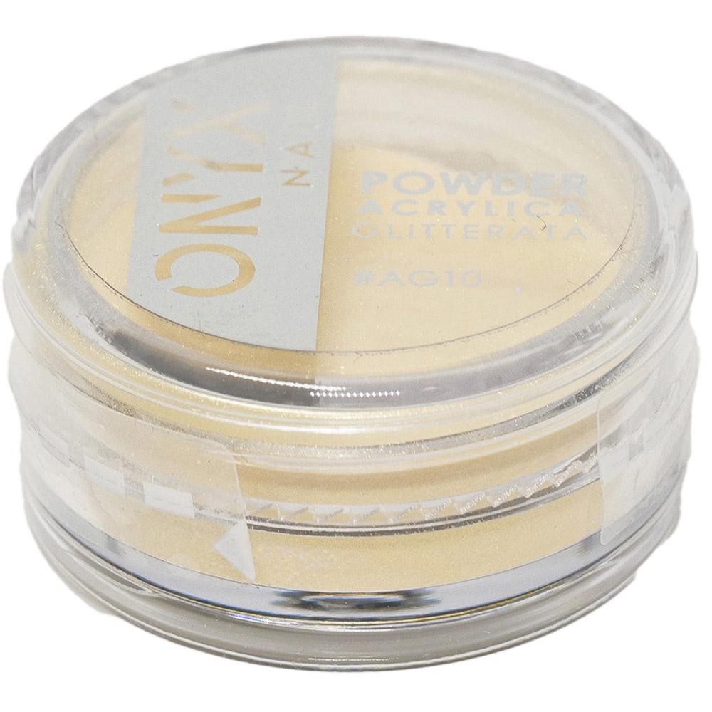 Polvere Acrilica Colorata OnyxNail -  Unix Color Powder Giallo Glitter
