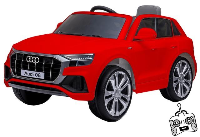 Macchina Elettrica 12V Audi Q8 Rossa