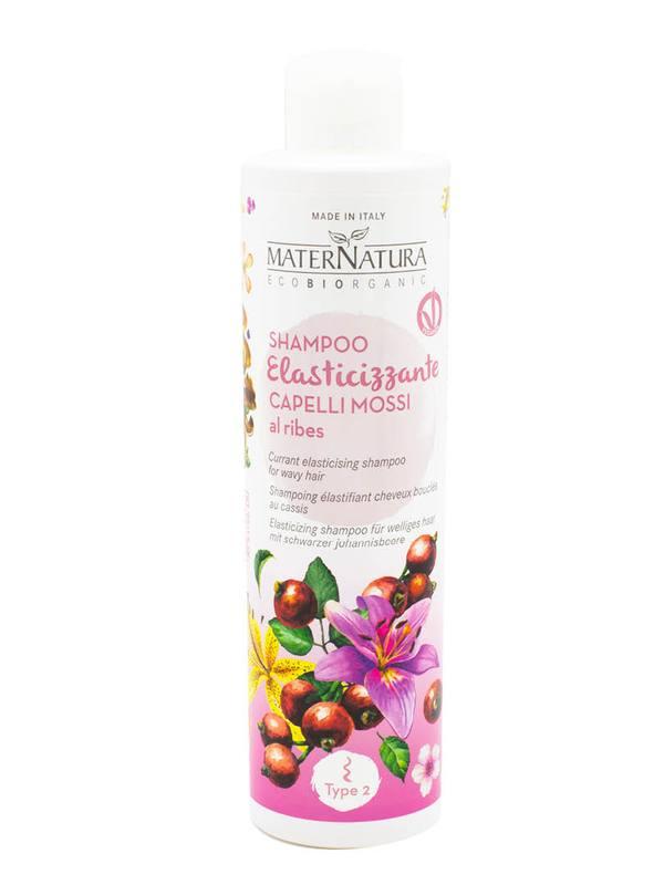 Shampoo Elasticizzante Capelli Mossi al Ribes
