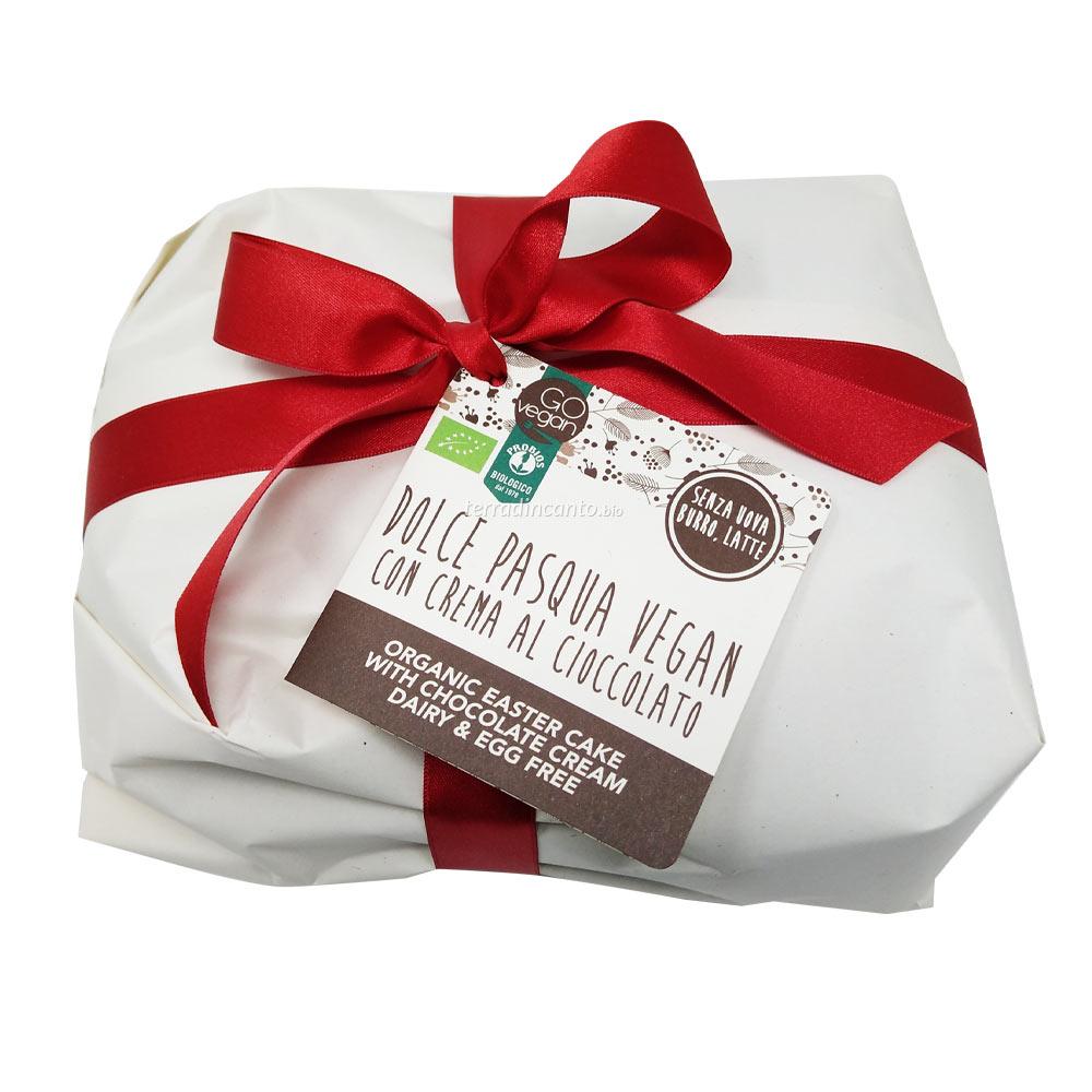 Colomba Vegan con Crema al Cioccolato 650 gr Probios