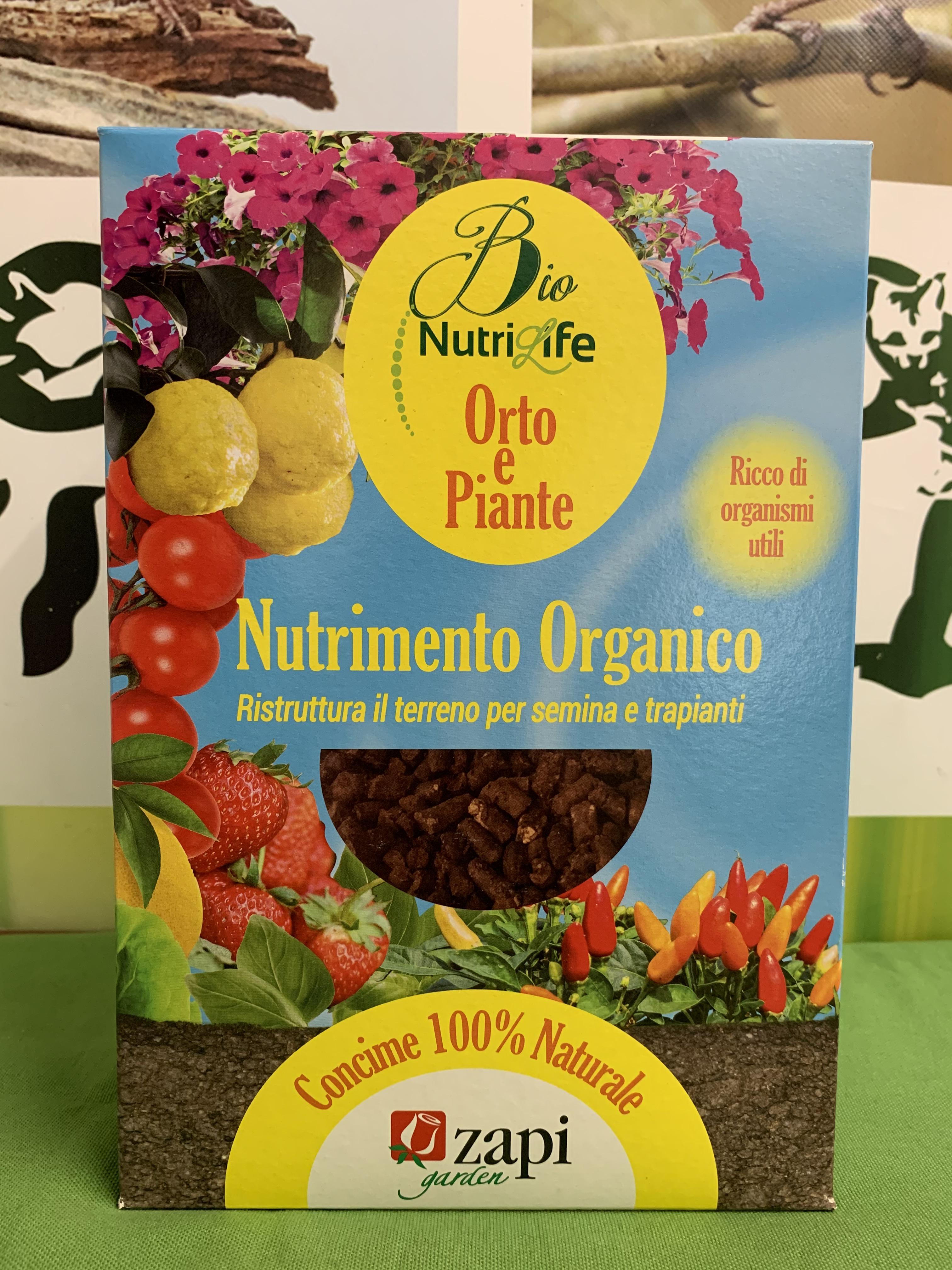 NUTRILIFE BIO ORTO E PIANTE GRANULARE