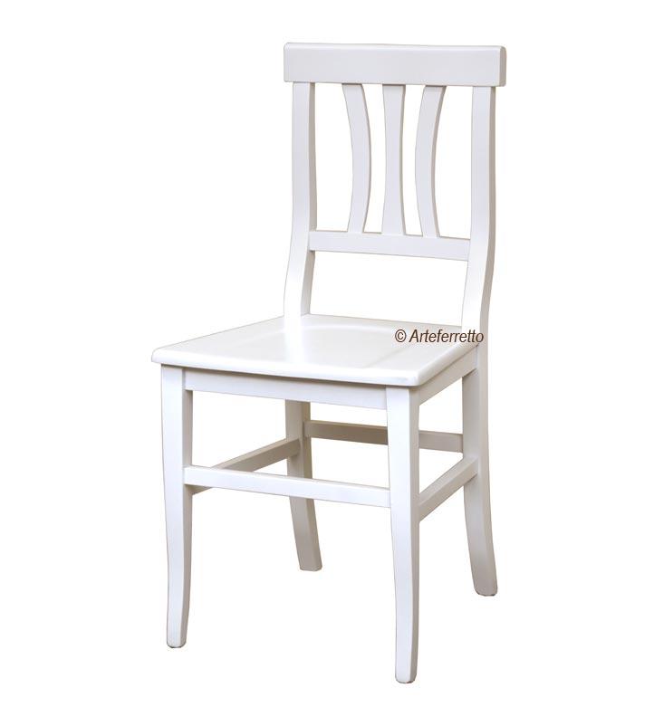 Stuhl traditioneller Stil - Sitz aus Holz