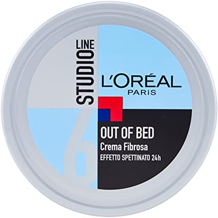 L'OREAL STUDIO LINE out of bed 6 crema fibrosa effetto spettinato 150ml