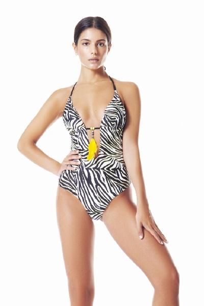 4Giveness Costume Da Bagno Intero Luxury Zebra.