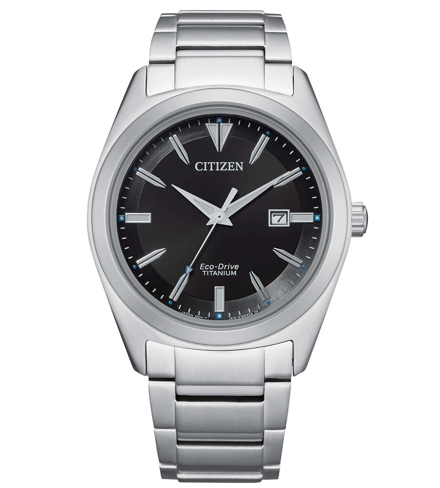Citizen uomo Super Titanio 1640 quadrante nero