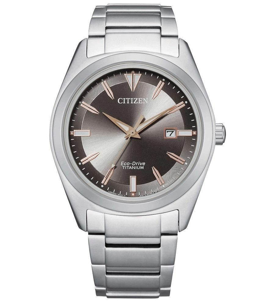 Citizen uomo Super Titanio 1640 quadrante grigio