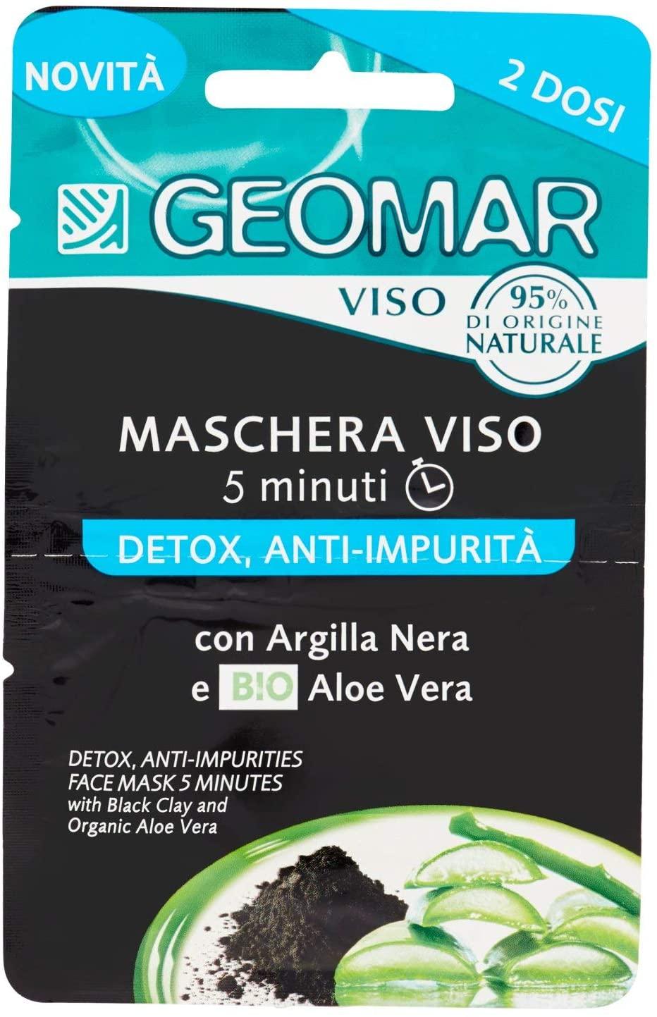 Geomar Detox Anti-impurità - Maschera Viso 2 dosi