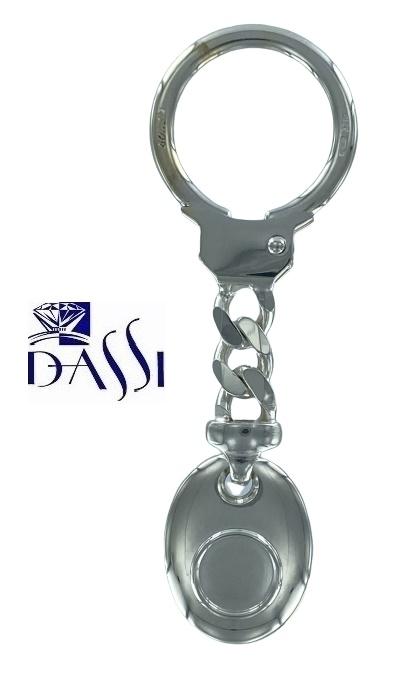 Porta chiavi in argento 925 Bondi