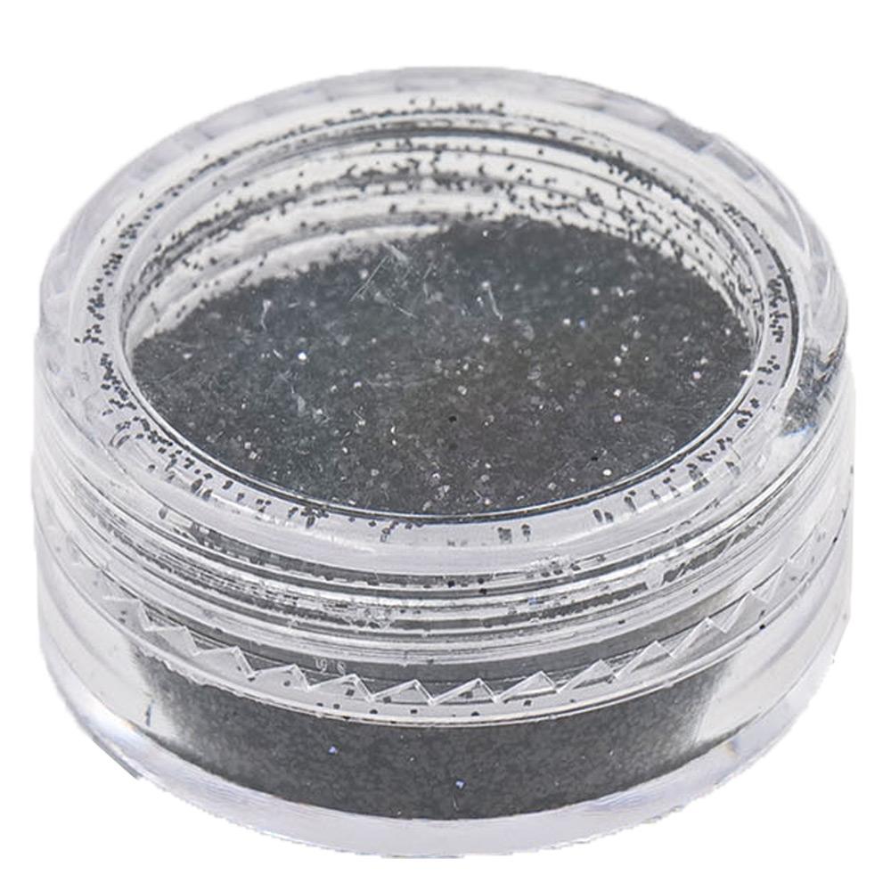 Polvere Glitter Nero per Nail Art