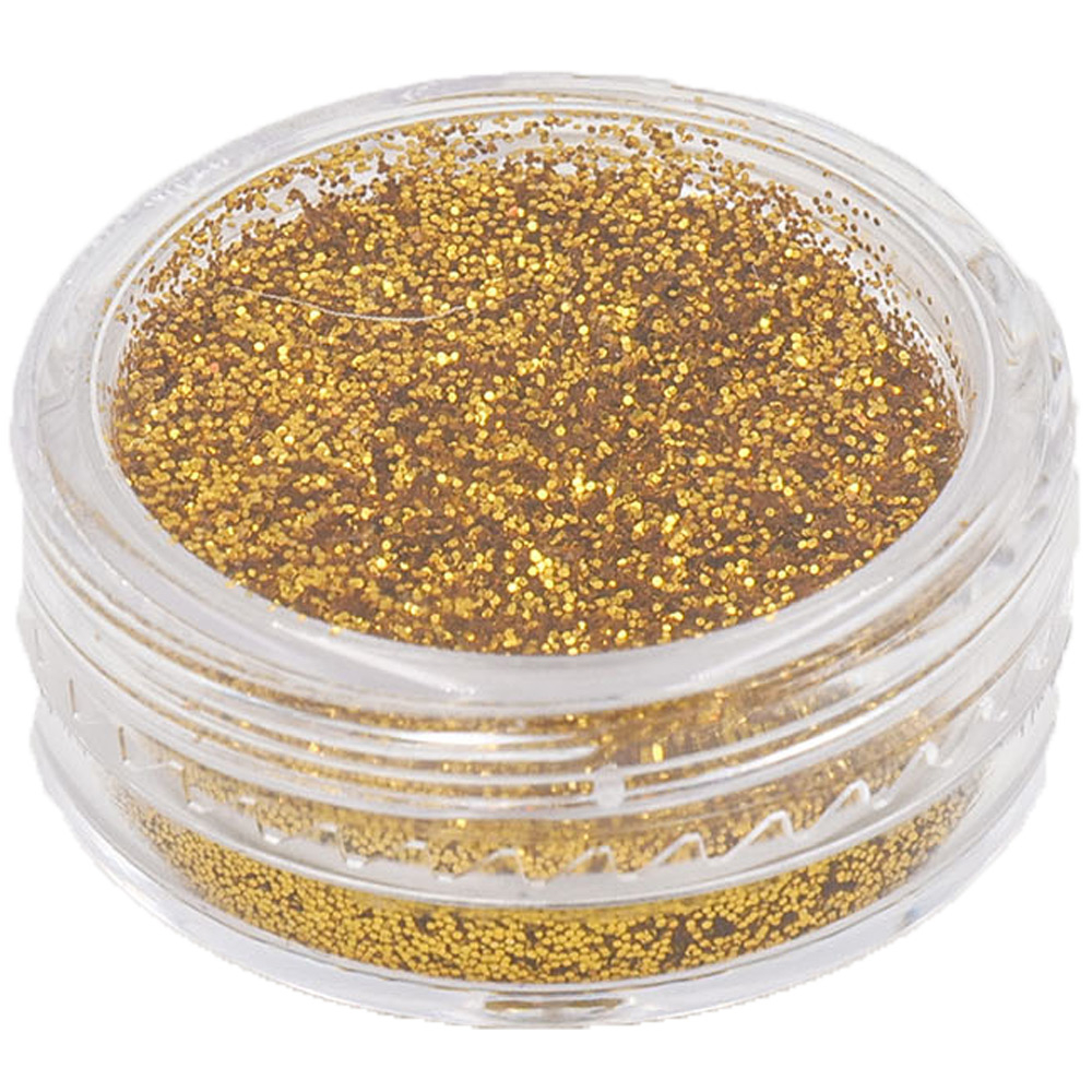 Polvere Glitter Oro per Nail Art