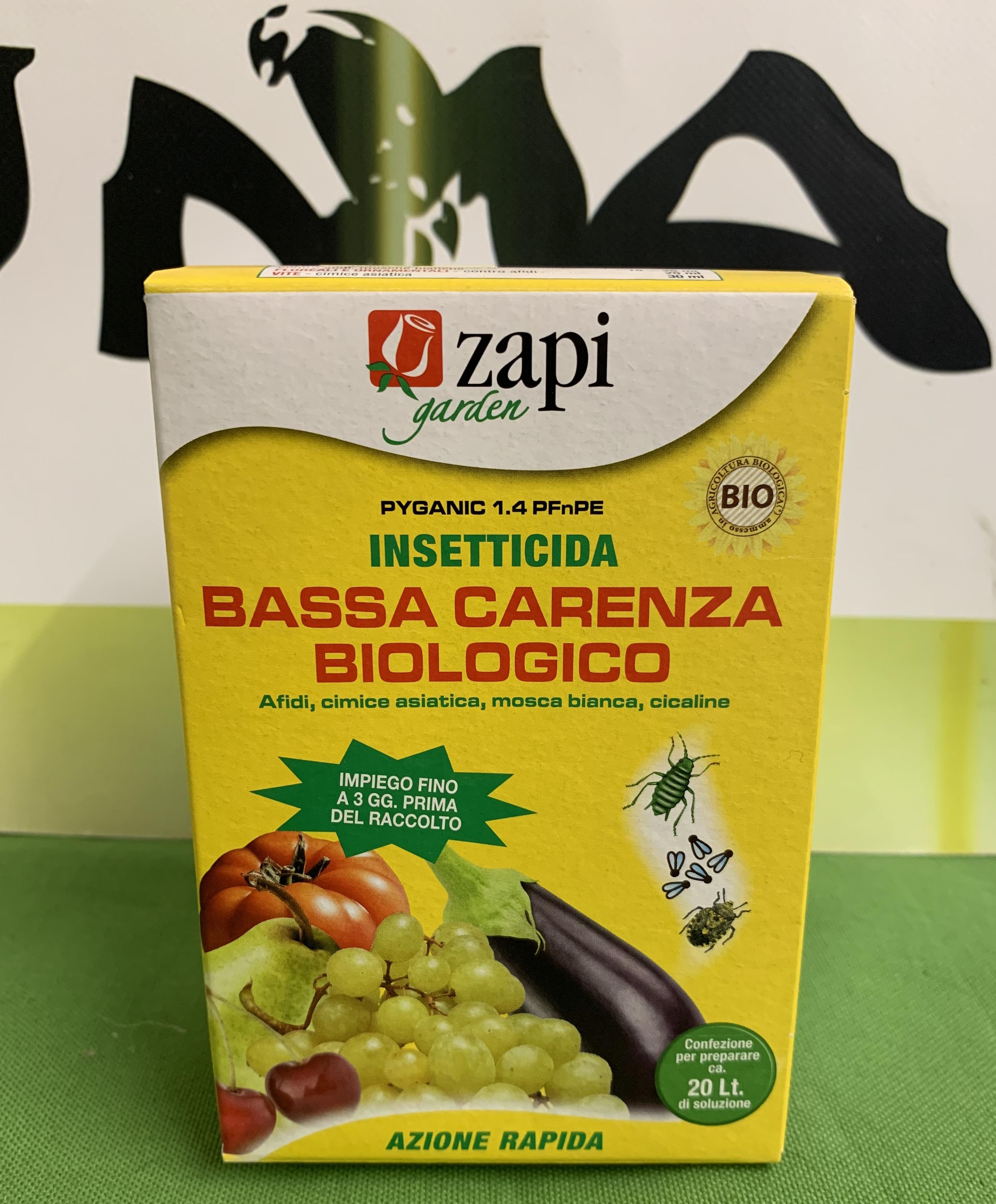 INSETTICIDA BASSA CARENZA BIOLOGICA 50ml