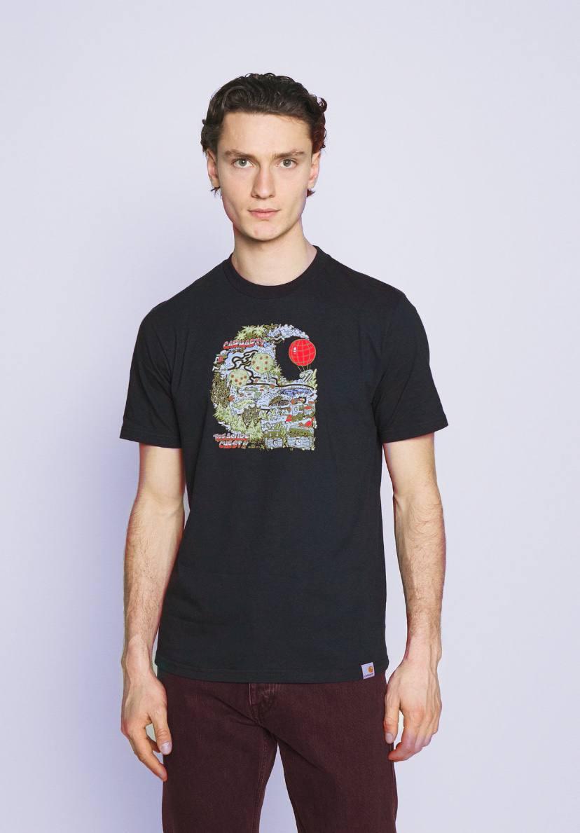 T-Shirt Carhartt Treasure C Black