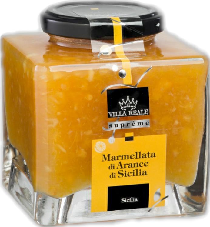 Marmellata di Aranci di Sicilia Villareale 340gr