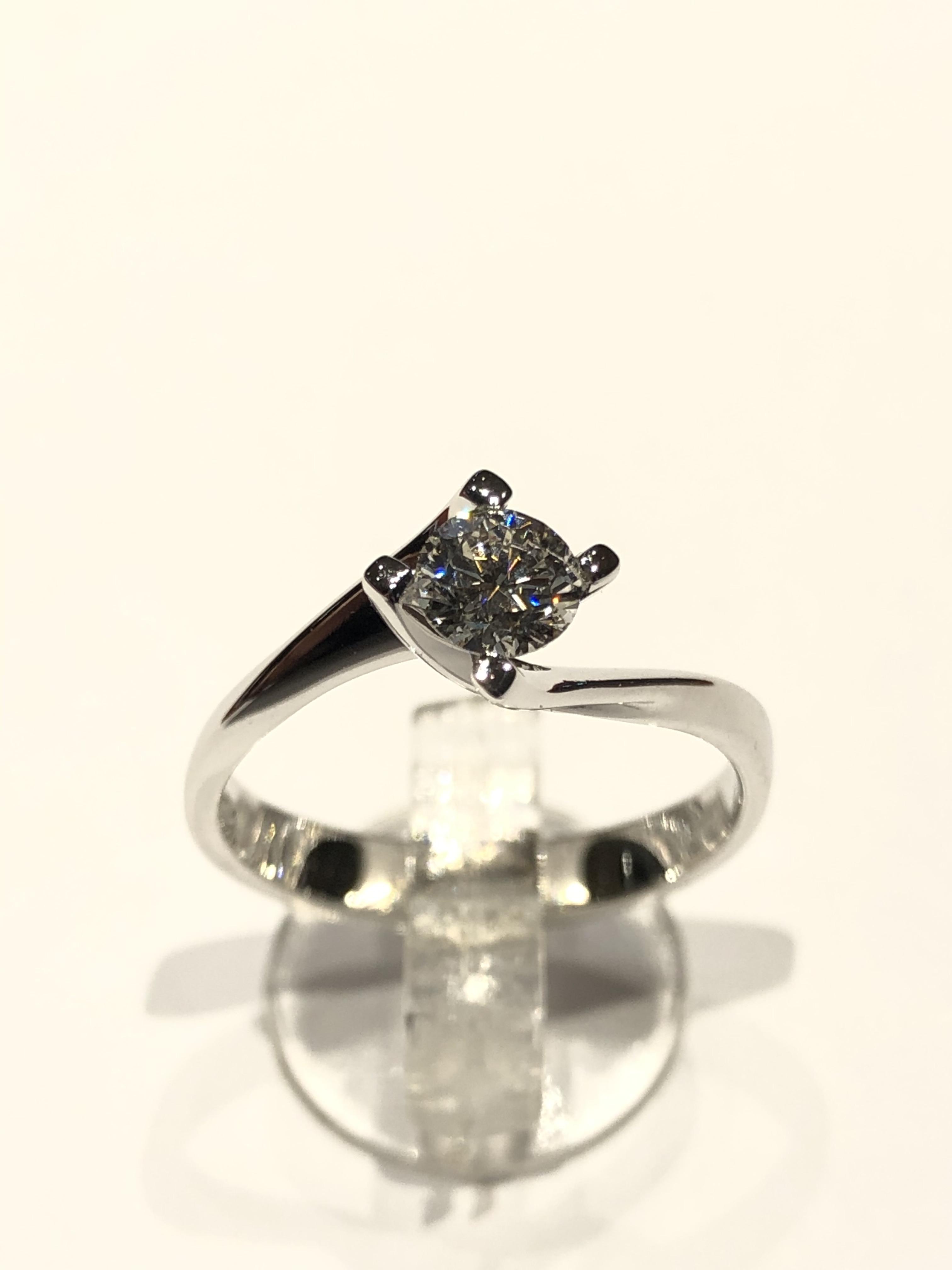 Anello Valentino Diamante 0.44 ct