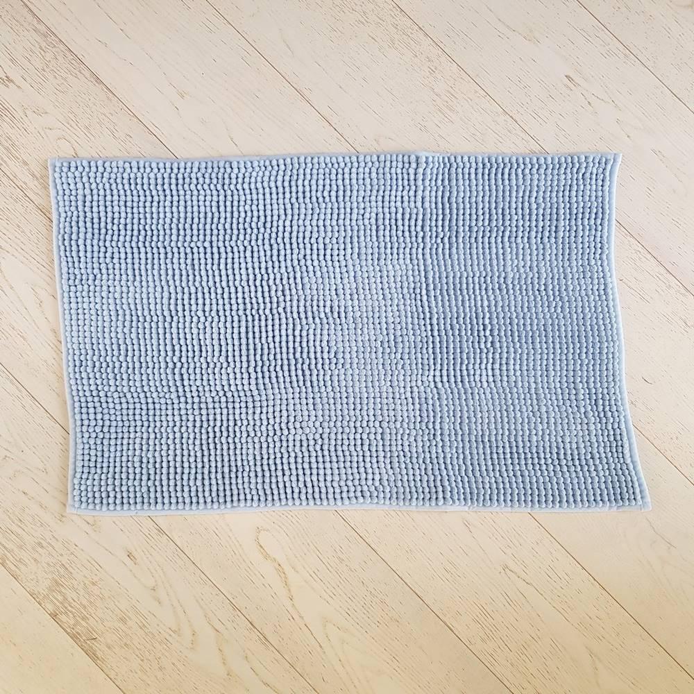 Tappeto antiscivolo Soffy azzurro