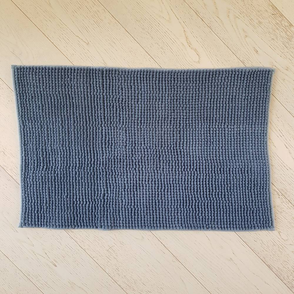 Tappeto antiscivolo Soffy blu