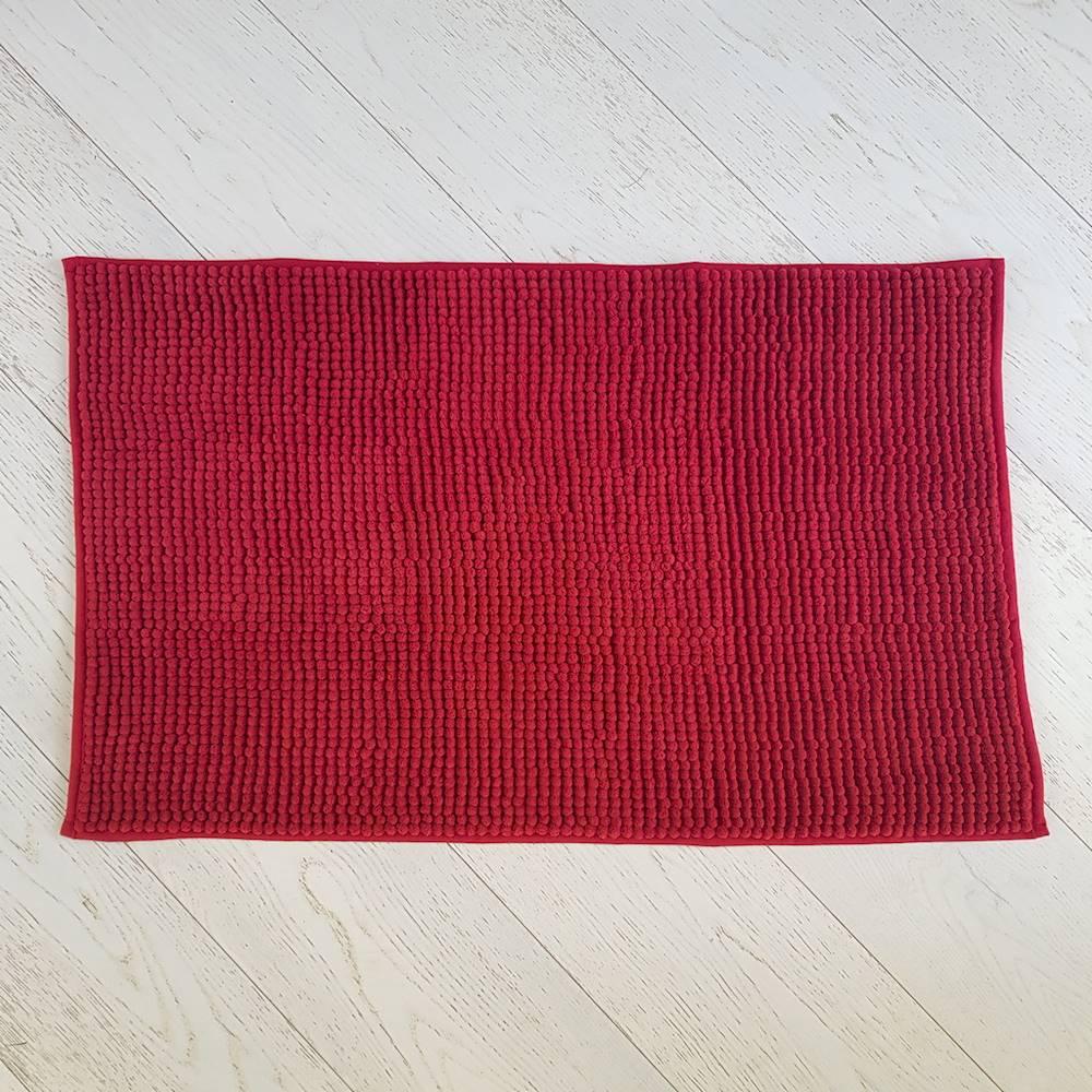 Tappeto antiscivolo Soffy rosso