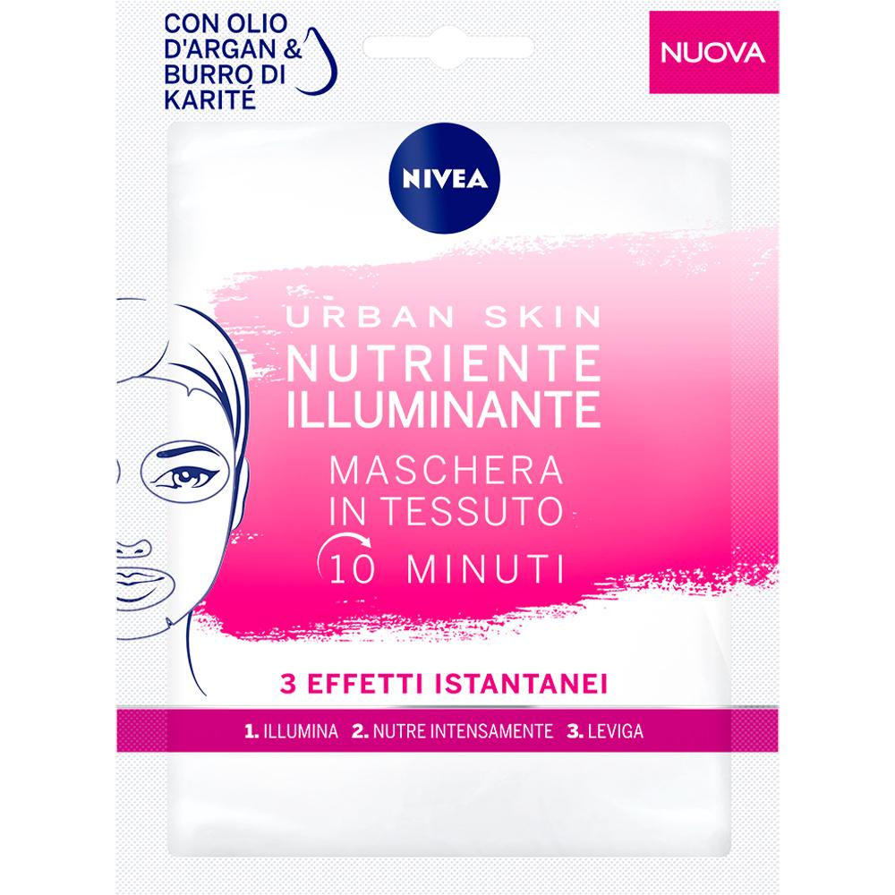 Maschera viso in tessuto Nutriente illuminante Nivea