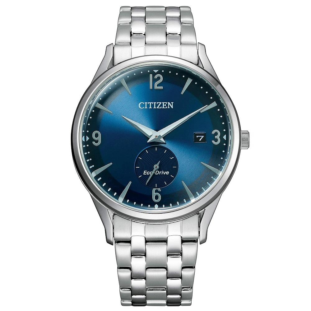 Citizen Classic Cassa e bracciale acciaio, quadrante blu