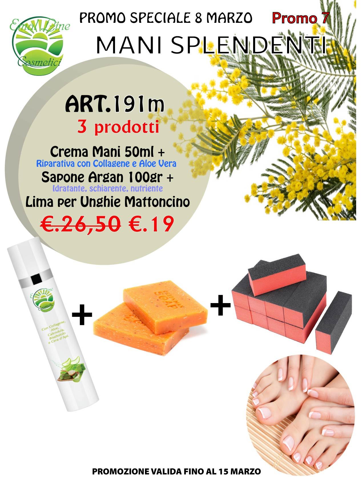 Promo 7 Mani Splendenti 3 prodotti!