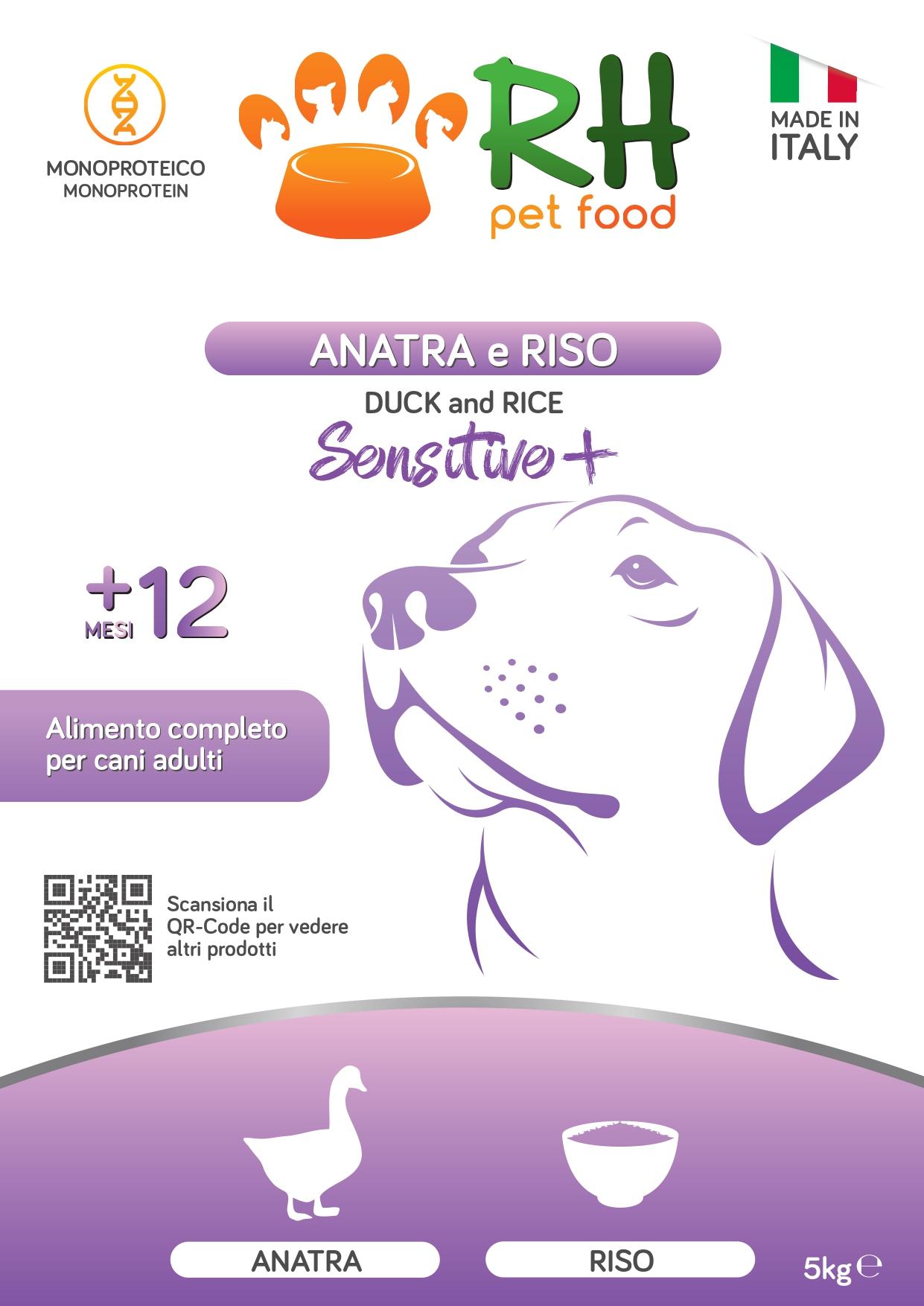 Anatra e Riso monoproteico
