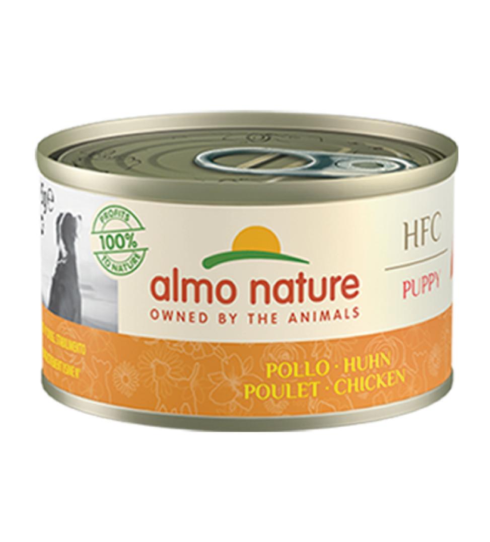 Almo Nature - HFC Dog - Puppy - Pollo - 95g x 24 lattine