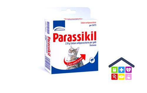 Formevet | Parassikil - Collare Gatto Antiparassitario (Lunghezza 35 cm)