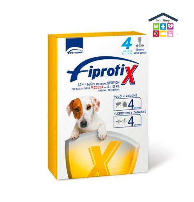 Formevet   Cane   FIPRATIX SPOT ON - TAGLIA PICCOLA 4-10kg / 67 Mg