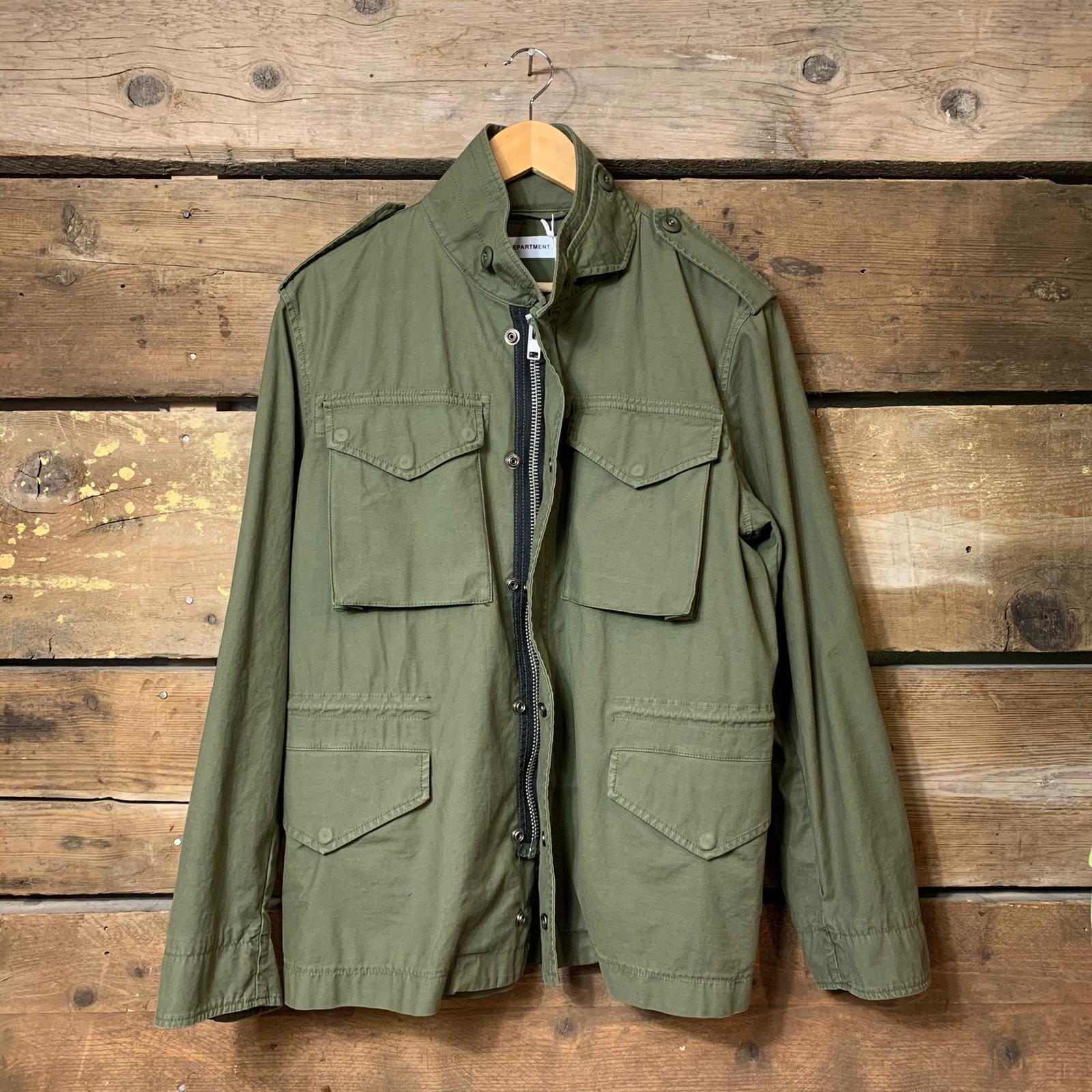 Giacca Parka Department 5 Field Verde Militare