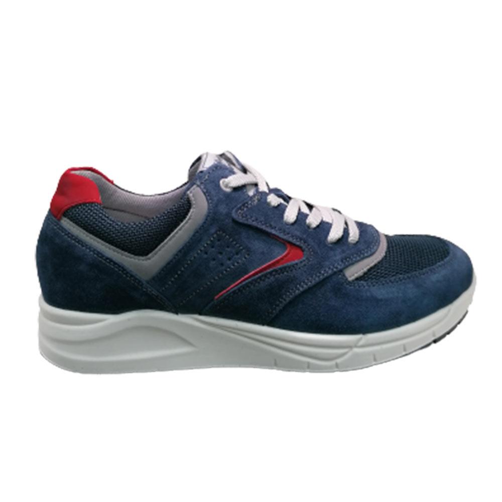 Sneakers Uomo IMAC 702200 BLU 72175/003 ROSSO  -10